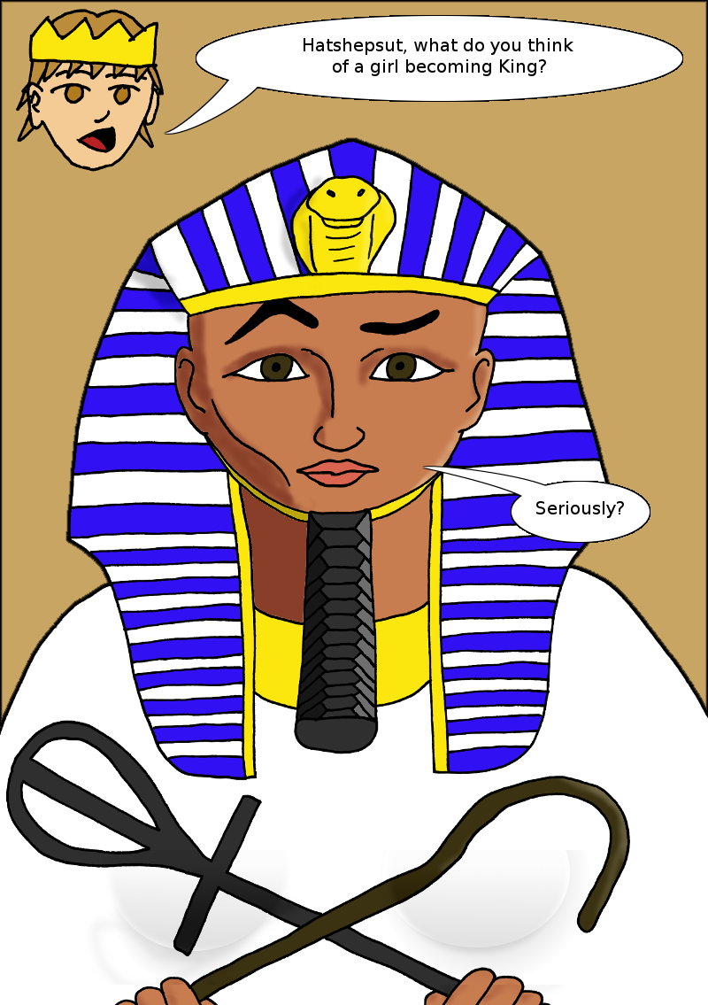 Historical Q&A with Hatshepsut